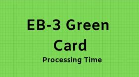EB-3 Green Card Processing Time