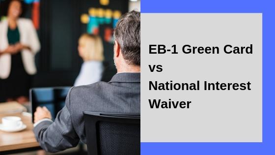 EB-1 vs NIW