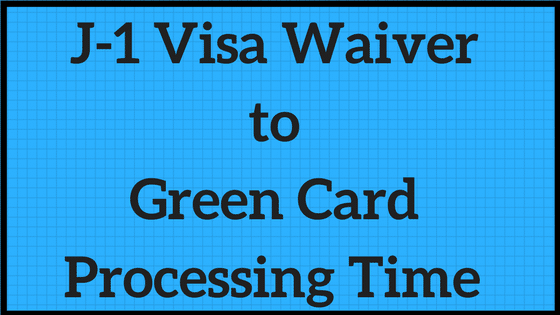 J-1 Waiver to green card
