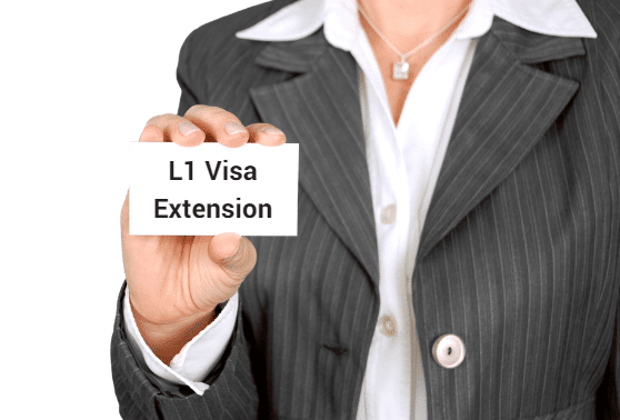 L1 visa extension