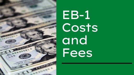 EB-1 Costs and Fees