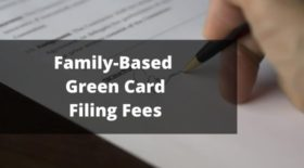 Family-Based Green Card Filing Fees 2020