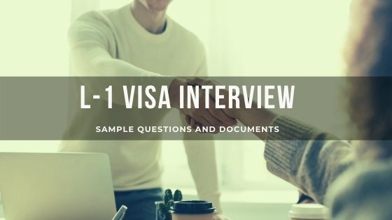 L-1 Visa Interview