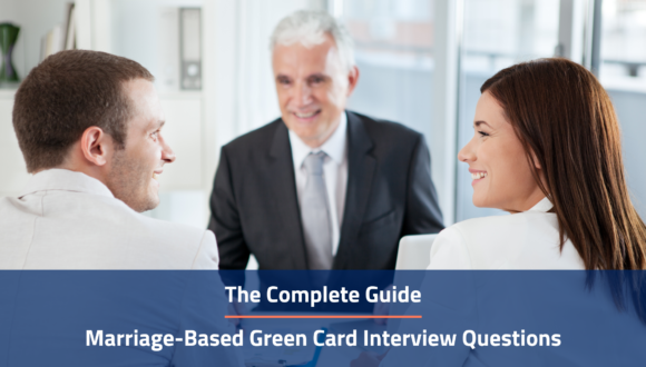 marriage based green card interview questions