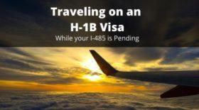 Traveling on an H-1B Visa